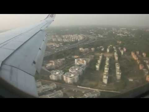 SpiceJet 737-800 Mumbai(Bombay) to New Delhi Good Weather (Landing + TakeOff) - May 2014