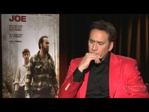 "Joe - Nicolas Cage on Popcorn Movies Vs. ""Naked"" Acting"