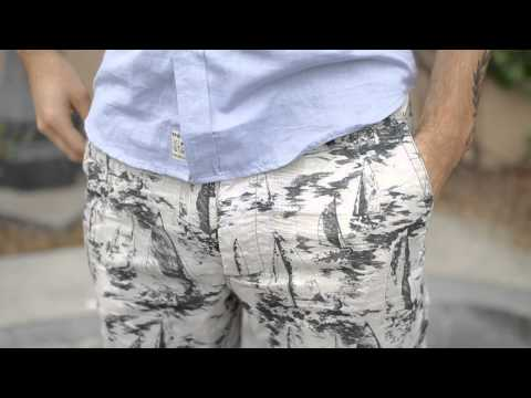 Howe Switchstance Sailboat Reversible Shorts