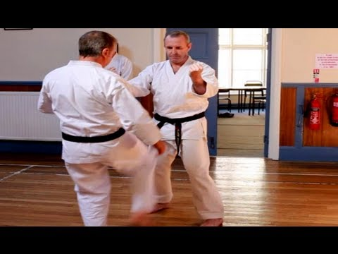 TOM HILLS DOJO - Goju Karate - Sanchin &amp; Tenshio Kata explanation