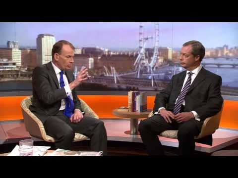 BBC - UKIP leader Nigel Farage interviewed by Andrew Marr 06 Oct 13