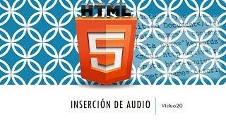 Curso de HTML 5. Parte 20