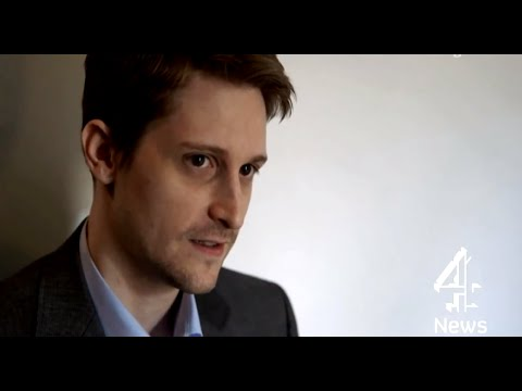 Edward Snowden interview: 'If I end up in chains, I can live with that' | Channel 4 News