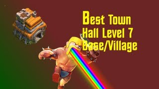 on Best Town Hall Level 7 Defense Setup - Clash of Clans - YouTube