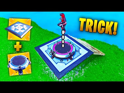 *NEW* BOUNCER + JUMP PAD TRICK!! - Fortnite Funny WTF Fails and Daily Best Moments Ep. 1382