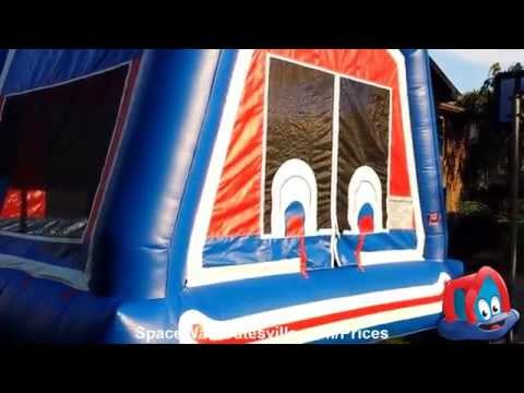 Clown Face Bounce House for Rent in Gatesville, Copperas Cove, McGregor, Killeen and Hamilton