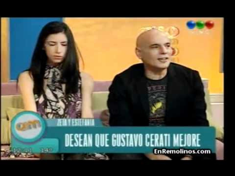 Zeta Bosio habla de Cerati | Programa AM, Buenos Aires, Argentina (26.05.2011)