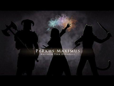 SKYRIM MOD TESTING: Perkus Maximus (PerMa) - Armor #1
