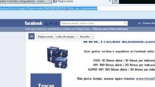 Ganhar Curtidas Seguidores No Trocas Facebook