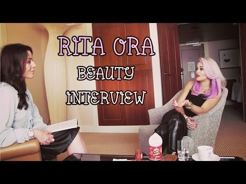 Rita Ora ❤ Beauty interview | Beautygloss