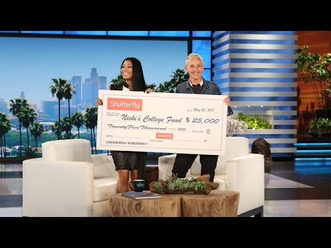 Nicki Minaj Gives Back