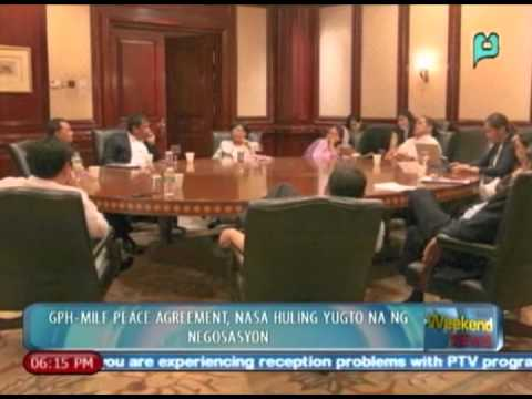 WeekendNews: GPH-MILF peace agreement, nasa huling yugto na ng negosasyon