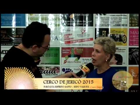Cerco de Jericó 2015 - Testemunho - Cida (Parque Interlagos)