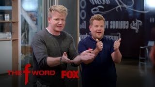 James Corden Joins Gordon Ramsay In The Kitchen | Season 1 Ep. 2 | THE F WORD