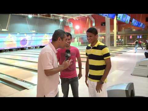 Replay - Douglas do Náutico e da Seleção Sub-20 no Boliche - Tv Jornal - 04.12.12