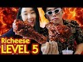 MUKBANG 6 BOX RICHEESE FIRE CHICKEN Lvl 5