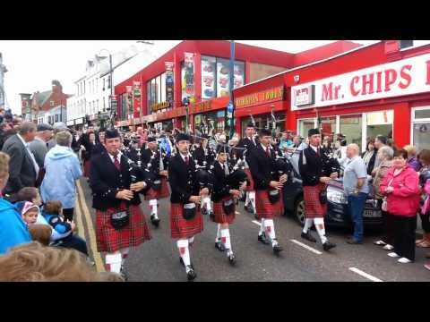 Pipe Bands Portrush 2013