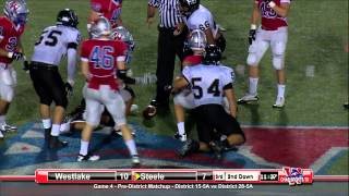 Westlake vs Steele - 2012 - Full Game