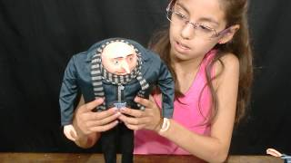 Despicable Me 2 Interactive Gru review - KidToyTesters