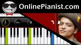 Bruno Mars When I Was Your Man Piano Tutorial