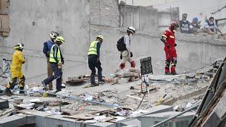بالفيديو.. أكثر من مئتي قتيل في زلزال المكسيك وعمال الإنقاذ يواصلون البحث عن ناجين   |   قنوات أخرى