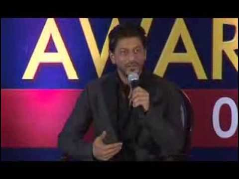 Shah Rukh Khan at the Zee TV Awards