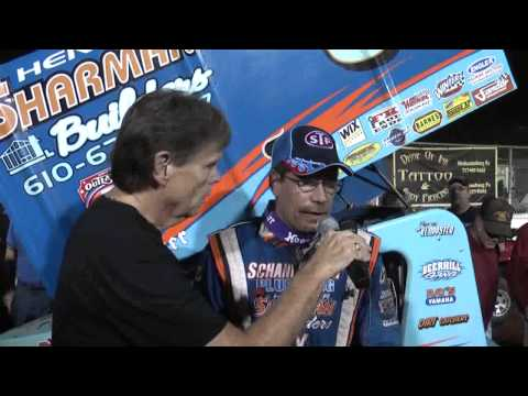 Williams Grove Speedway World of Outlaw Victory Lane 10-4-13