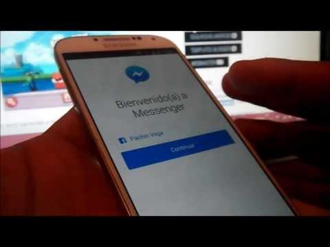 Cerrar sesion en Nuevo Facebook Messenger 2013