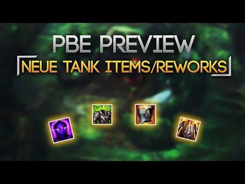 PBE Tank Items Rework + Update / Midseason patch [League of Legends]  [Deutsch / German]