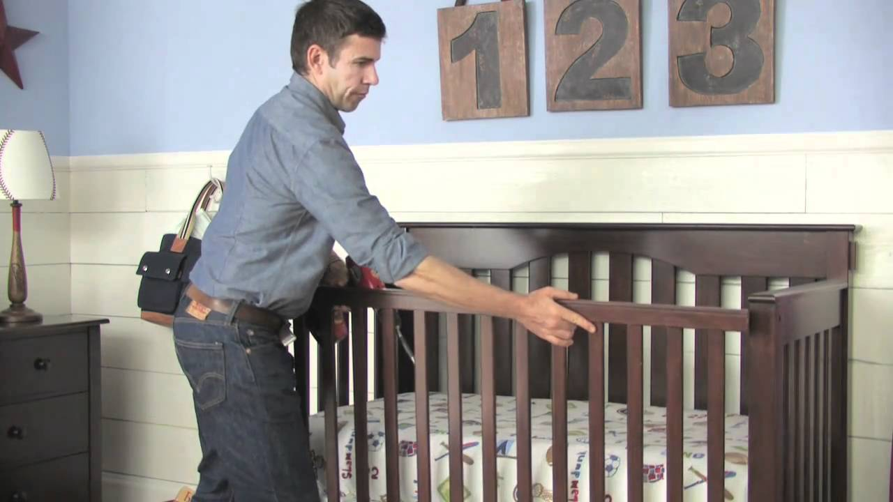 How To Convert A Kendall Crib Into A Toddler Bed Pottery