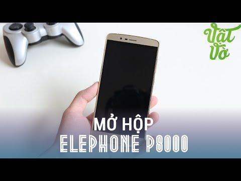Vật Vờ - Mở hộp & đánh giá nhanh Elephone P8000: ~5tr có vân tay 1 chạm, pin 4165mAh