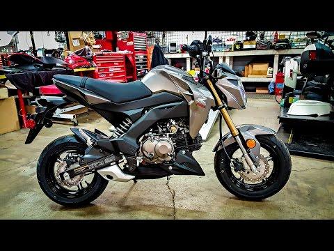 All-New Kawasaki Z125 Pro!! - 1st Test Ride!  | BikeReviews