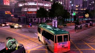 Sleeping Dogs : Mini Bus Racket Gameplay PC/Xbox360/PS3