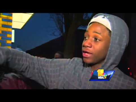 Video: Witnesses describe Baltimore rowhouse explosion
