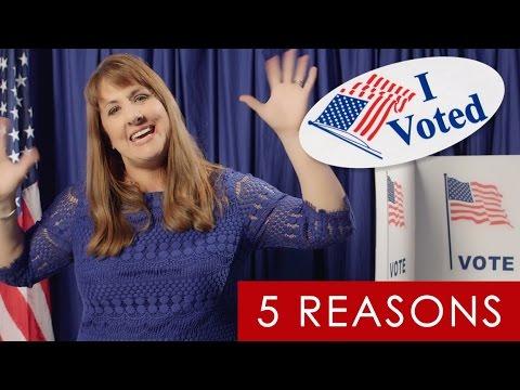 Top 5 Reasons Crafty People Vote #VoteIRL