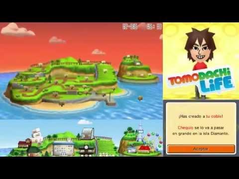 TomoDachi Life - Parte 1 - ¡BIENVENIDOS A  DIAMANTE! :D - Chequio