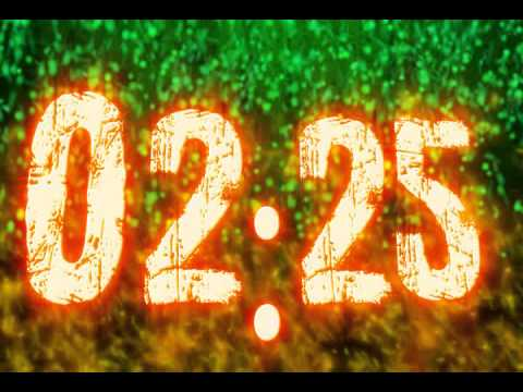 Green Flames Countdown