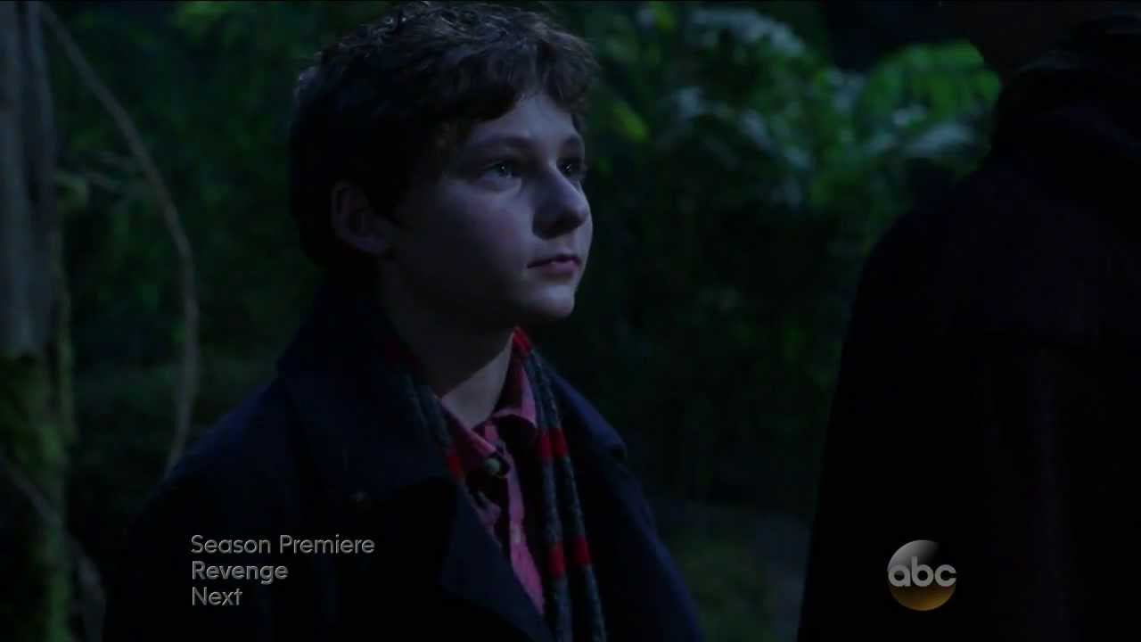 Once Upon A Time Season 3x01 End Scene Henry with Peter ...