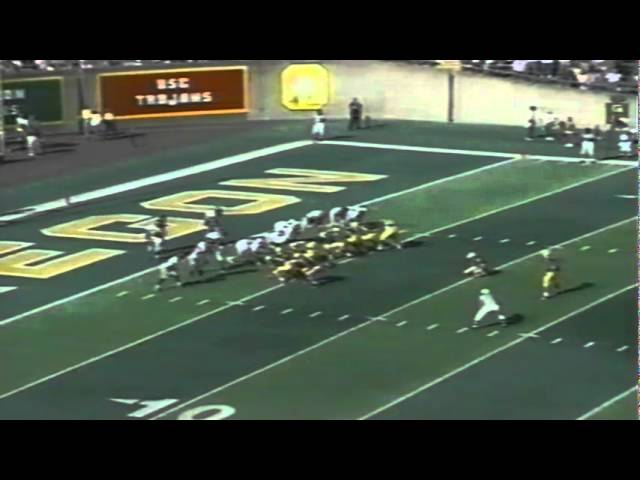 Oregon CB Kenny Wheaton pick six interception vs. Pacific 10-07-1995