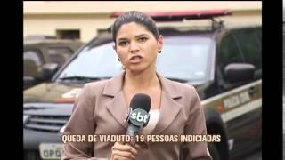 Pol�cia Civil indicia ex-secret�rio de Obras e engenheiros por queda de viaduto na Avenida Pedro I