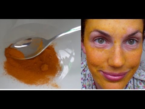 how to LIGHTEN your SKIN easily and NATURALLY with TURMERIC and LEMON