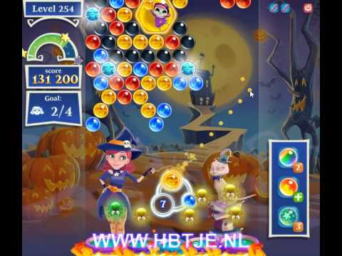 Bubble Witch Saga 2 level 254