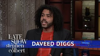 Daveed Diggs Doesn't Always Cry At Movies, Just His Own