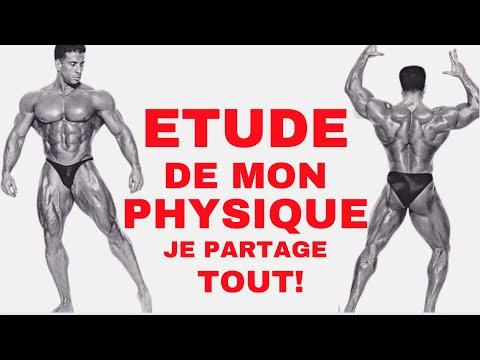 Etude de mon Physique : Je Partage tout avec vous  ( Entrainement + Diete )