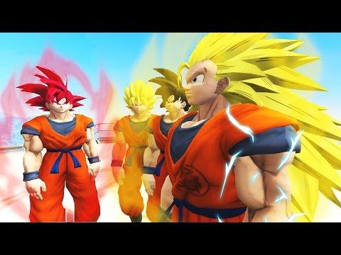 GTA 5 MODS #3 | SUPER SAIYAN - MOD DRAGON BALL Z (Siêu Saiya - Goku Đánh Nhau Với Người Sắt)