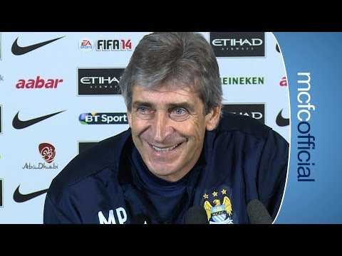 WEST BROM v CITY: Pellegrini Press Conference Part 2