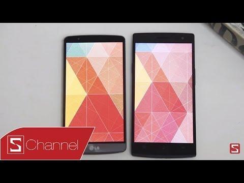 Find 7 vs LG G3: Đối đầu màn hình 2K