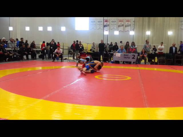 2014 Cadet National Championships: 50 kg Final Charles Cook vs. Connor McNeice