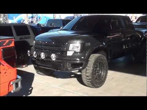 Ford Raptor quad cab SEMA 2011