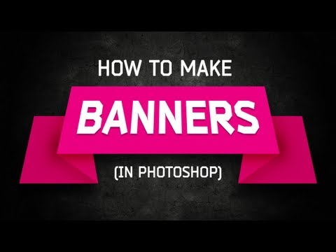 0 Photoshop Tutorial: Banners and Ribbons